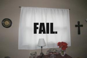 Curtainfail